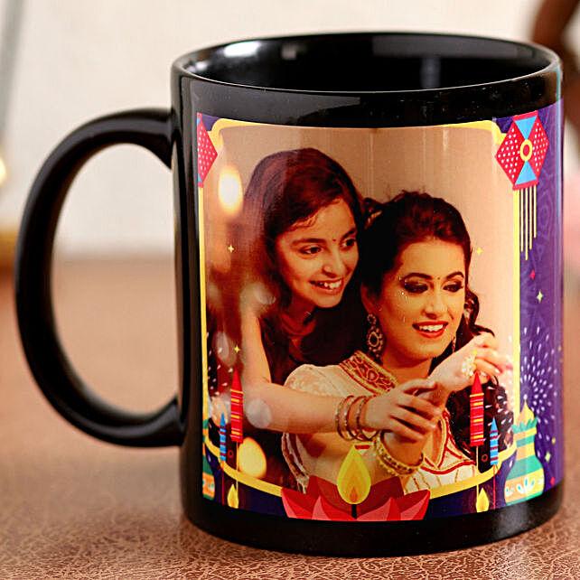 diwali printed mug for her:Personalised Coffee Mugs in USA