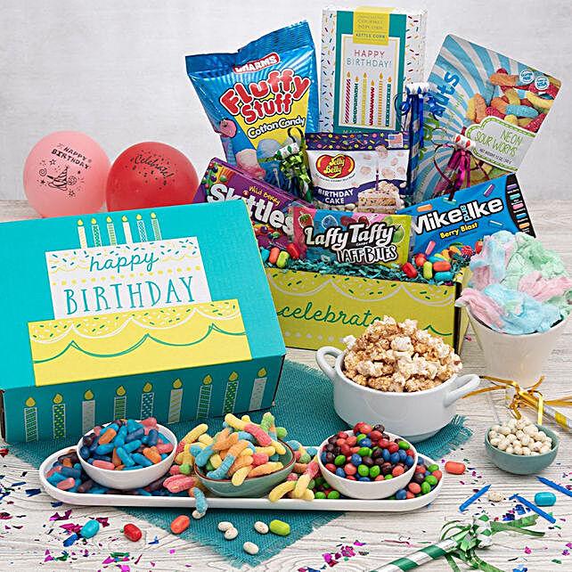 Birthday Surprise Basket