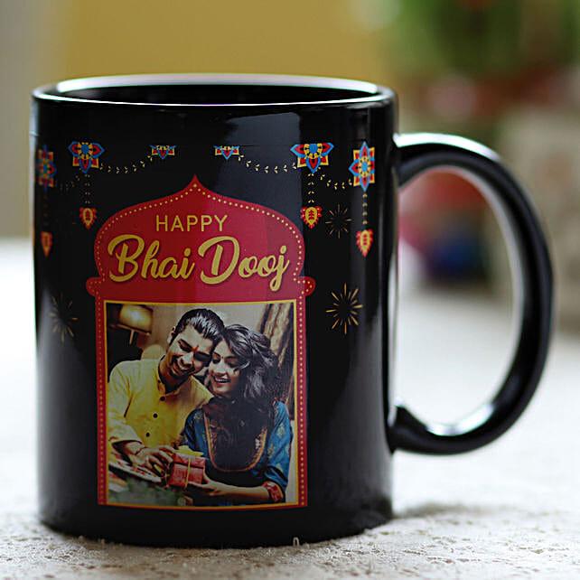 Online Personalised Bhai Dooj Mug:Personalised Mugs to USA