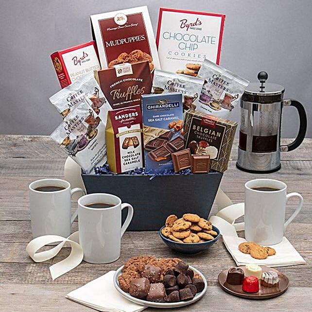 All Sweet Coffee Basket