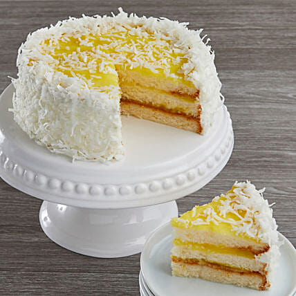 Lemon Coconut Cake Cakes Birthday