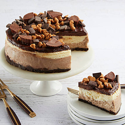 Peanut Butter Cup Cheesecake Birthday