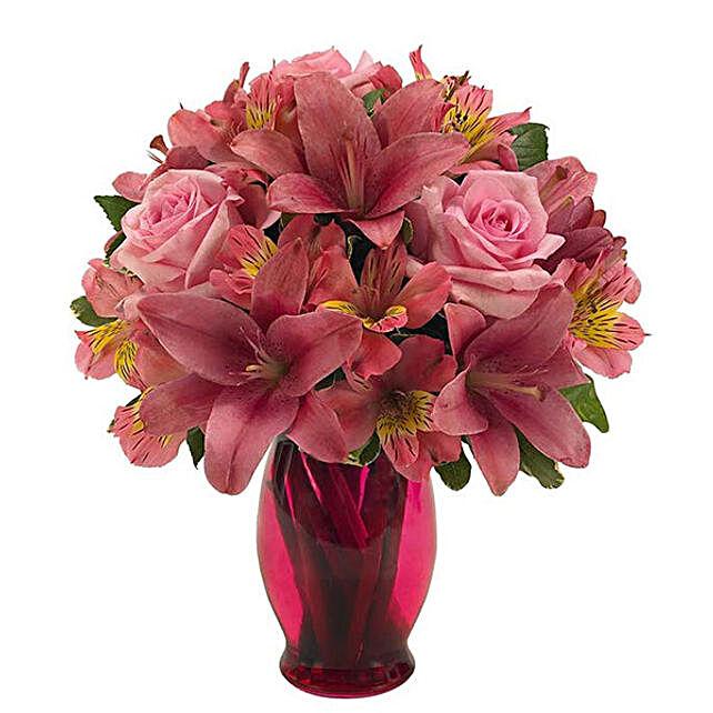 Beautiful Mixed Flowers Bunch
