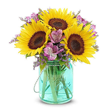 Divine Mixed Flowers Bunch