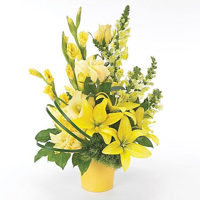 Beautiful Assorted Carnations Vase Arrangement