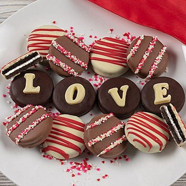 Belgian Chocolate Love Oreo Cookies:Patisserie to USA