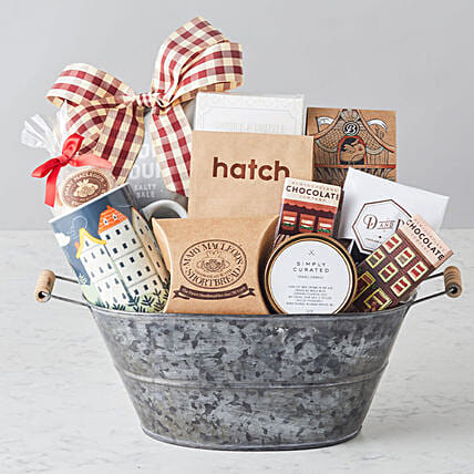 Home at last Gourmet Food Basket:All Gifts