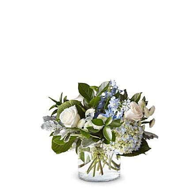 Elegant Mixed Flowers Vase