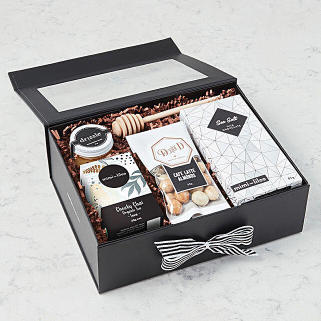 Sea Salt Milk Chocolates Hamper:Send Gifts for Mother in USA