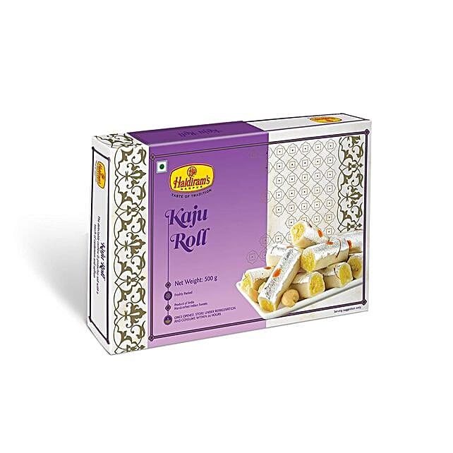 Haldiram Kaju Roll 340 Gms For Diwali