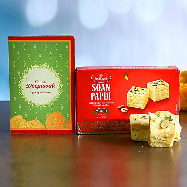 Delicious Soan Papdi Diwali Gift:Diwali Gifts to USA