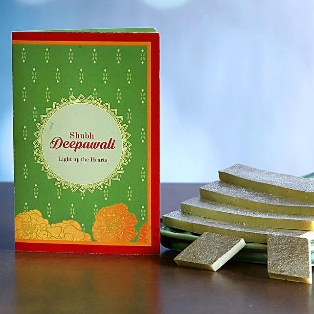 Kaju Katli Delight Diwali Gift:USA Sweets