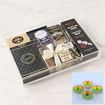 Art Of Chocolate Box:Diwali Gift Delivery in USA