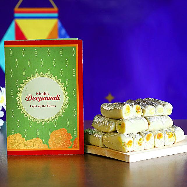 Delicious Kaju Roll Diwali Gift:Send Sweets to USA