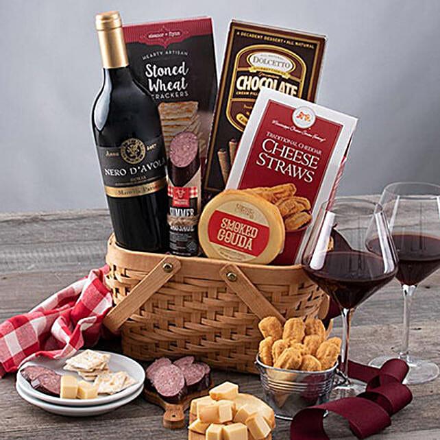 Valentine Celebration With Wine