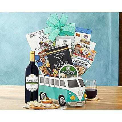 Vintage Party Bus Gourmet Hamper