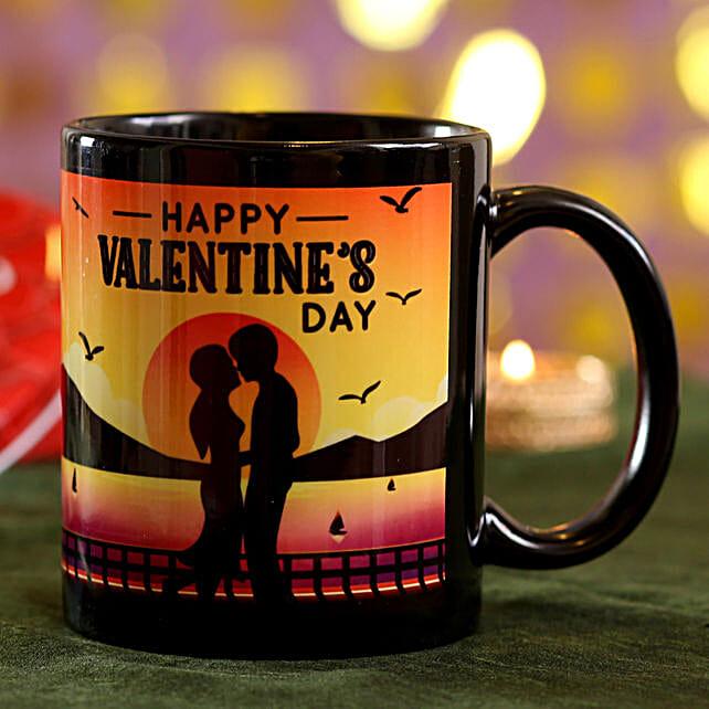 happy valentine's day printed mug online