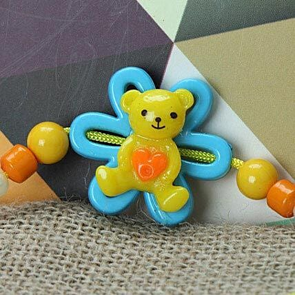 Cute Little Teddy Rakhi ZAM